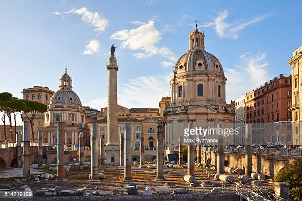 The old part of of Rome