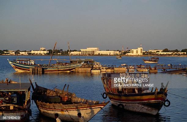 The old port of Djibouti Republic of Djibouti