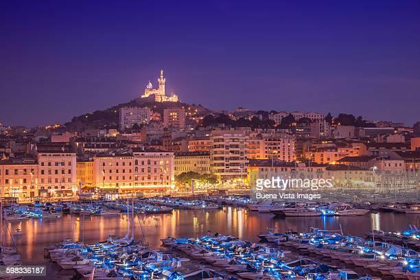 the old port of marseille. - marseille photos et images de collection