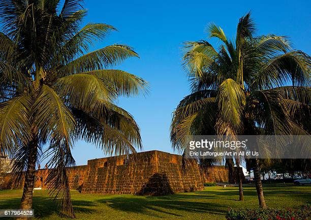 The old portuguese fort maputo Mozambique on July 9 2013 in Maputo Mozambique