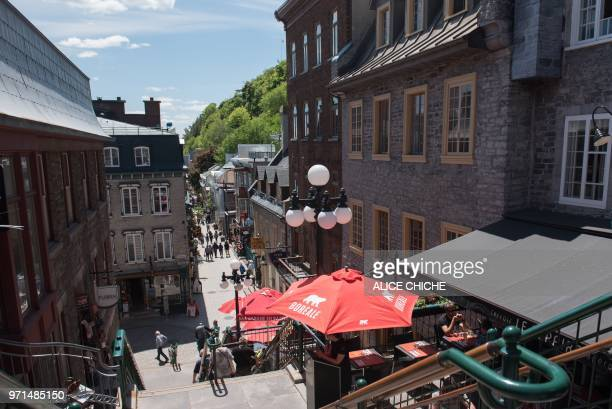 The Old Quebec is viewed in Quebec City on June 10 2018