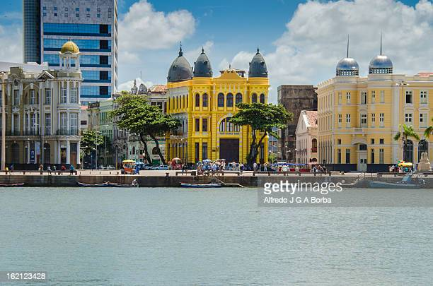the old recife downtown - recife stock pictures, royalty-free photos & images