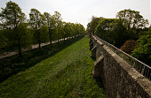 the Old Roman Wall, York, North Yorkshire