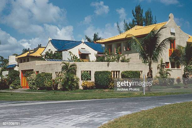 The Old Spanish Village in Coral Gables Florida circa 1960