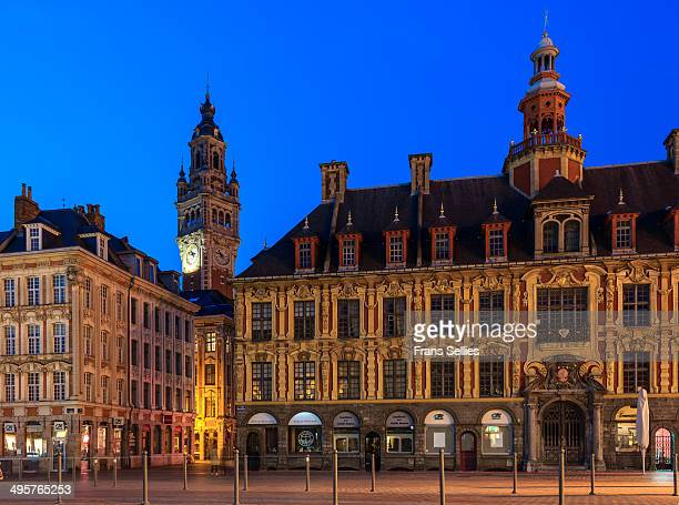 The Old Stock Exchange, Lille, France: 17th century splendour in Flemish Renaissance style.