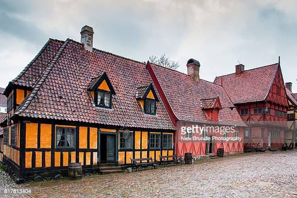 The Old Town, Aarhus, Jutland, Denmark.