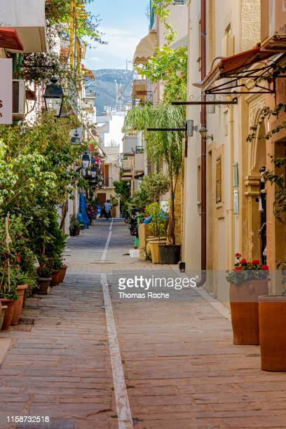 The old town in Rethymnon, Greece