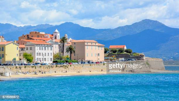 the old town of ajaccio - ajaccio stock photos and pictures
