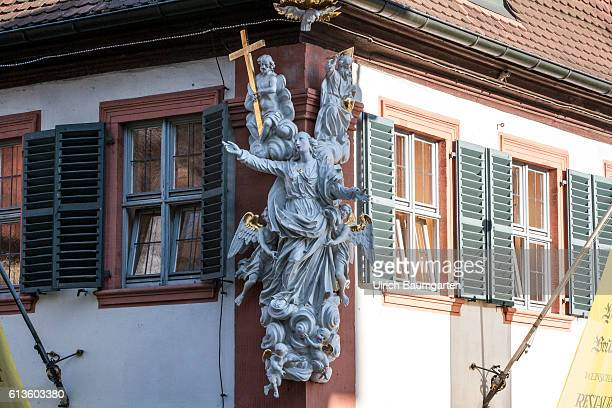 The old town of Bamberg the largest preserved historic city center in Germany and since 1993 as a world cultural heritage registered in the UNESCO...