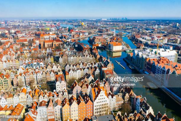 the old town of gdansk - poland stock pictures, royalty-free photos & images