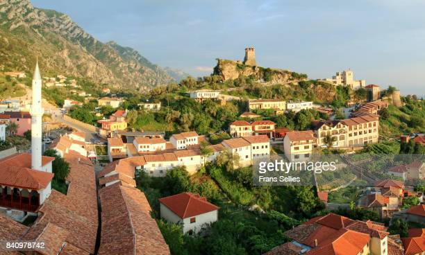 The old town of Kruje (Krujë, Kruja), Albania, Europe