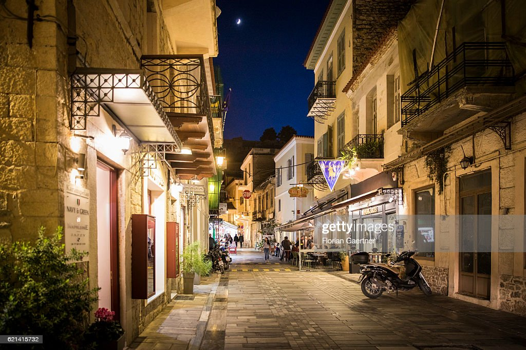 Old Town Of Nafplio : News Photo