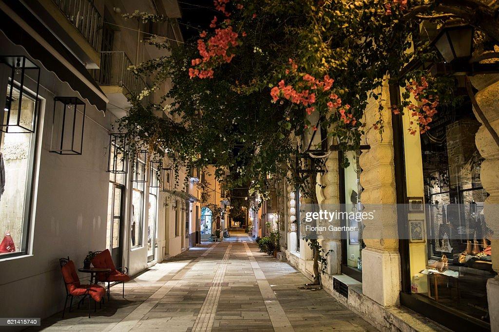 Old Town Of Nafplio : News Photo