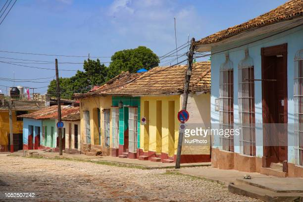 The old town of Trinidad in Cuba a UNESCO World Heritage Site since 1988