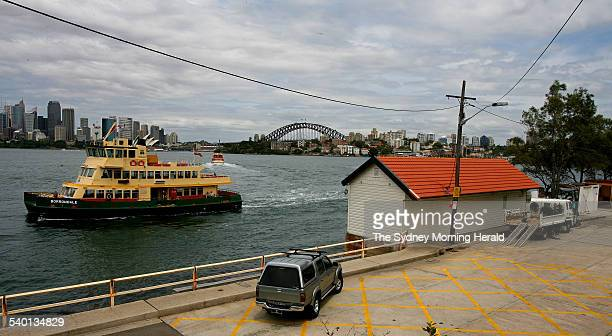 The old Tram Shed at Cremorne Point is undergoing refurbishment by its private owner The shed has wonderful views 4 December 2006 SMH NEWS Picture by...