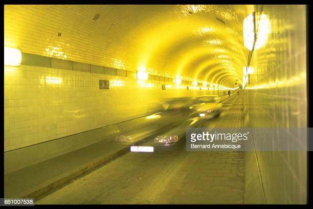 The 'old tunnel' underneath the Elbe