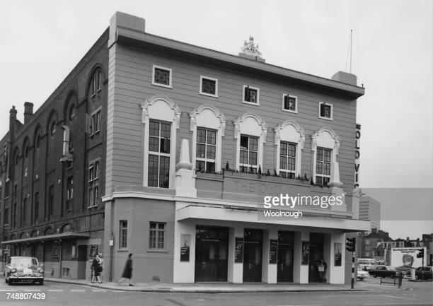 The Old Vic theatre on the corner of The Cut and Waterloo Road in Lambeth London after restoration of its facade 16th July 1970