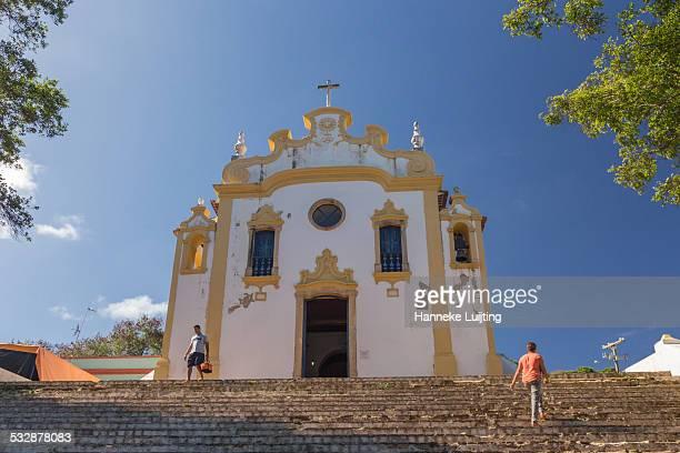 The old village church in Vila Los Remedios on Fernando de Noronha an island 350 km from mainland Brazil