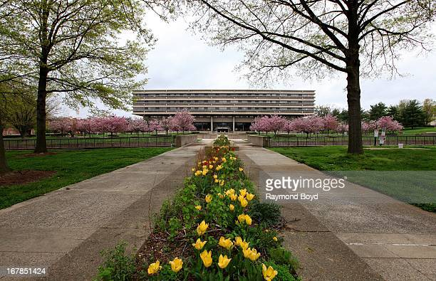 The old Walter Reed Army Medical Center in Washington D C on APRIL 19