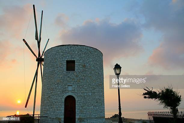 The old windmill, Corfu, Greece