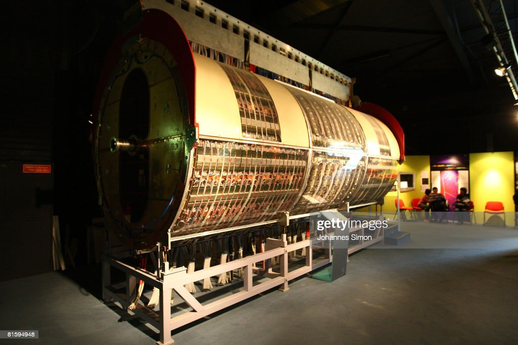 The older UAI central detector is displayed in the CERN (European Organization For Nuclear Research) visitors' center on June 16, 2008 in Geneva-Meyrin, Switzerland. CERN is building the Large Hadron Collider (LHC), the world's biggest and most powerful particle accelerator. The LHC is being installed in a tunnel 27 kilometers in circumference, buried 50 - 150 meters below ground. It will provide collisions at the highest energies ever observed in laboratory conditions. Four huge detectors - ALICE, ATLAS, CMS and LHCB - will observe the collisions so that the physicists can explore new territory in matter, energy, space and time.