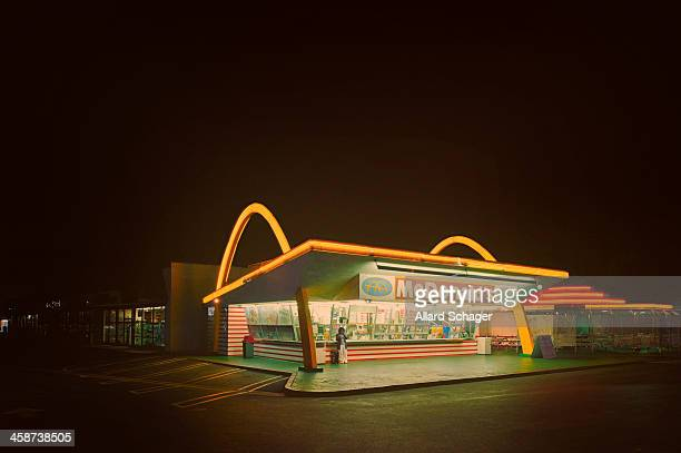 The oldest operating McDonald's restaurant in the world is a drive-up hamburger stand in Downey, California, USA. It was the third McDonald's...