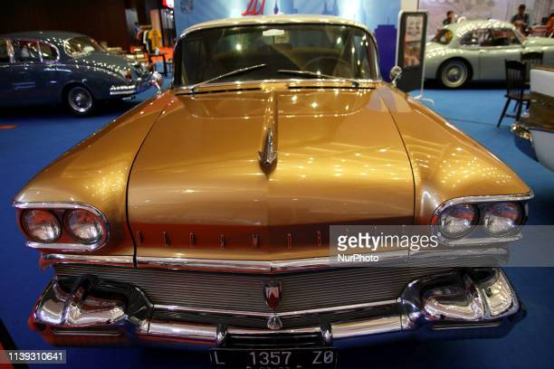 The OldsMobile Rocket 88 from 1958 has shown in the opening of the