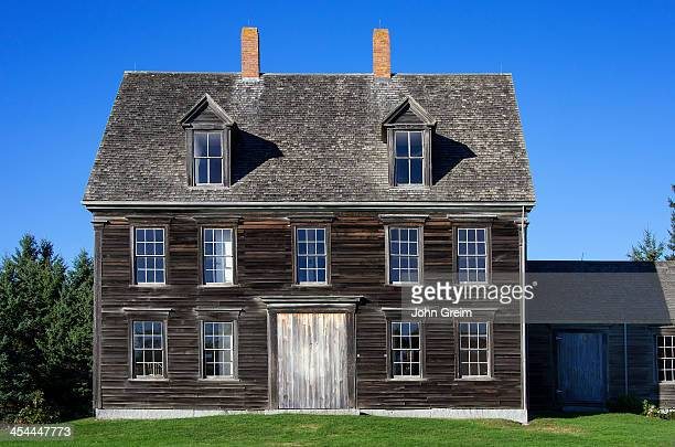 The Olsen House made famous by painter Andrew Wyeth and home of his frequent subject Christina Olsen