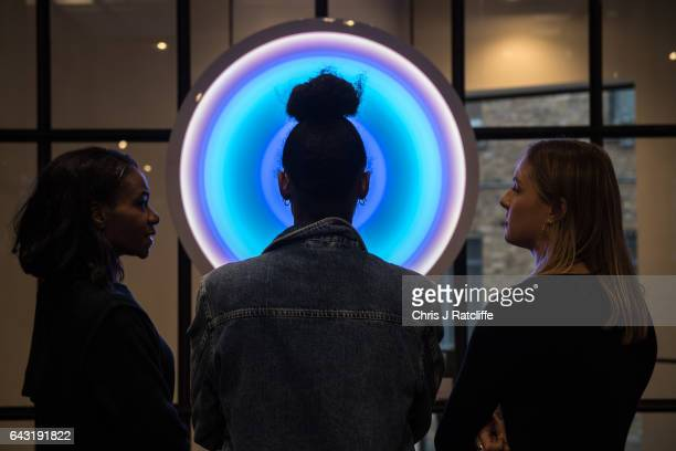 The Olumide Gallery London presents an exclusive exhibition 'Switch' during London Fashion Week in collaboration with GCU and The Body Shop Karen...
