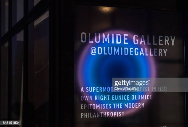 The Olumide Gallery London presents an exclusive exhibition 'Switch' during London Fashion Week in collaboration with GCU and The Body Shop The...