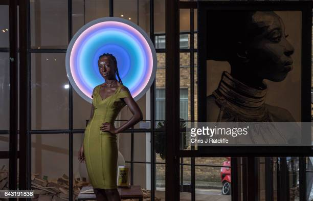 The Olumide Gallery London presents an exclusive exhibition 'Switch' during London Fashion Week in collaboration with GCU and The Body Shop Eunice...