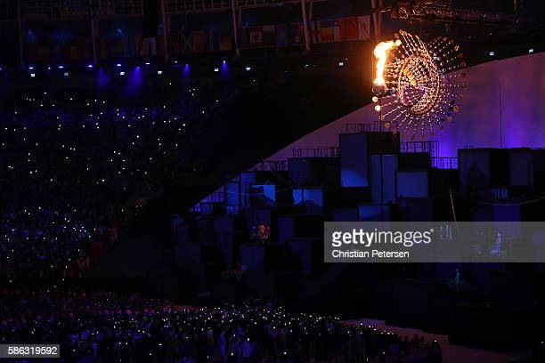 Olympic Cauldron Stock Photos and Pictures   Getty Images