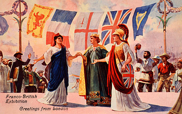 Welcome to the franco british exhibition pictures getty images welcome to the franco british exhibition m4hsunfo
