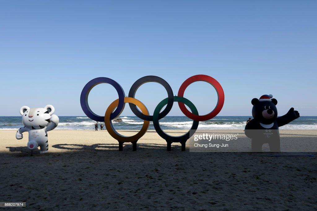 PyeongChang 2018 Winter Olympics Venue Tour : News Photo