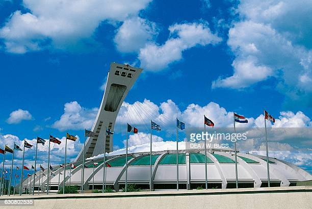 The Olympic Stadium 19731976 by Roger Taillibert Montreal Quebec Canada 20th century