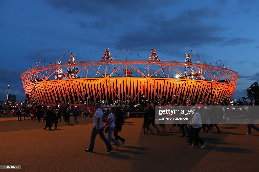 The Olympic Stadium at Olympic Park on August 2, 2012 in London, England.