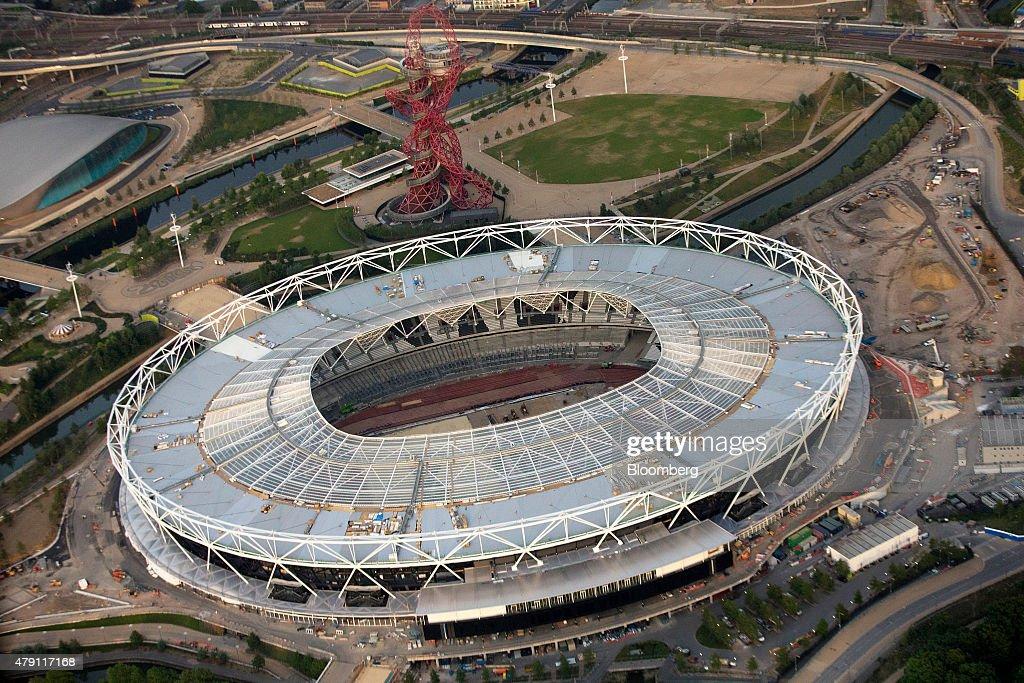 Aerial Views Of London : News Photo