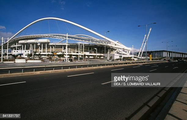 The Olympic stadium OAKA Olympic Athletic Centre of Athens architect Santiago Calatrava Greece