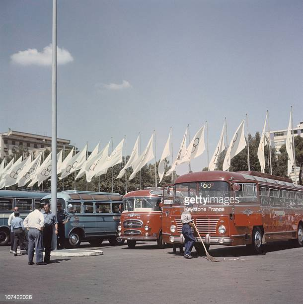 The Olympic Village In Rome On 1960