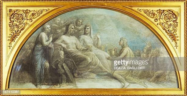 The Olympus by Andrea Appiani Royal Villa Milan Italy 18th century
