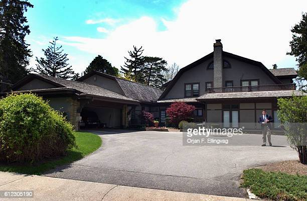The Omaha residence of Warren Buffett the second richest man in America next to Bill Gates is relatively modest