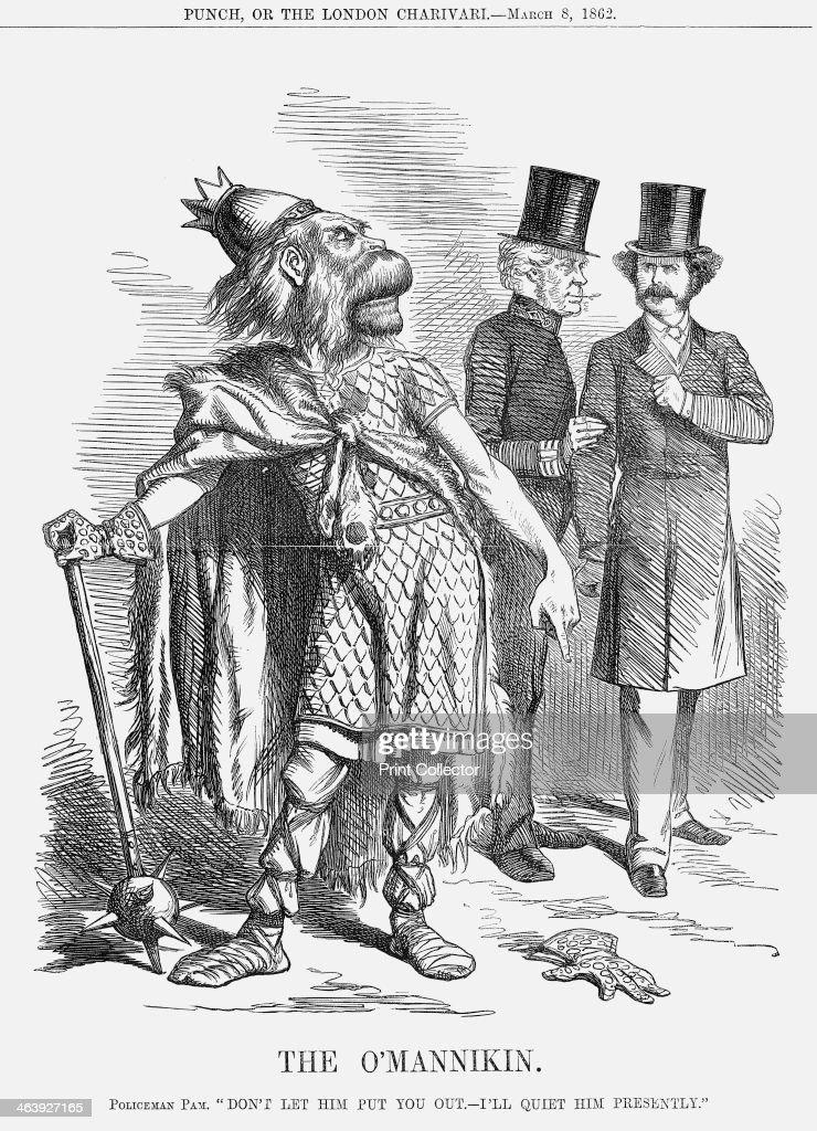 'The O'Mannikin', 1862. : Foto di attualità