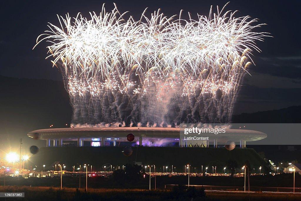 Opening Ceremony - XVI Pan American Games : News Photo
