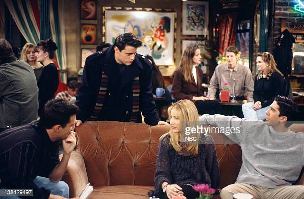 FRIENDS The One After the Superbowl Part 2 Episode 13 Air Date Pictured Matthew Perry as Chandler Bing Matt LeBlanc as Joey Tribbiani Lisa Kudrow as...