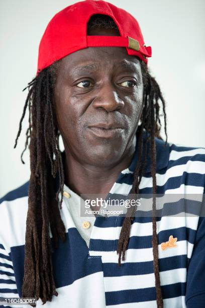 The one and only Flavor Flav poses for a portrait in Los Angeles California