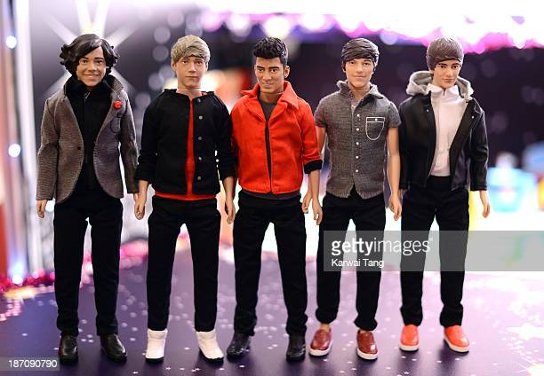 The One Direction Dolls predicted to be one of the the top 50 toys that will dominate Christmas this year are unveiled today at the Dream Toys Fair...