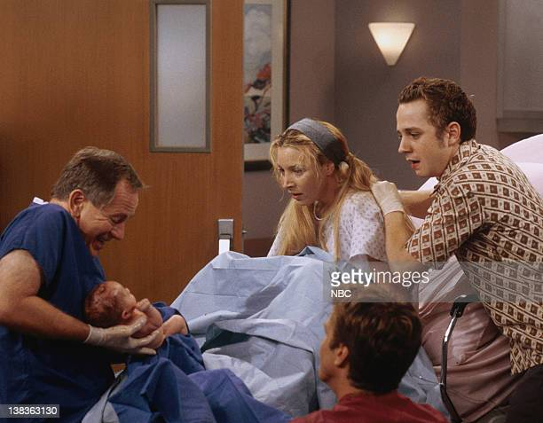 FRIENDS 'The One Hundredth' Episode 3 Pictured Sam Anderson as Dr Harad Lisa Kudrow as Phoebe Buffay Giovanni Ribisi as Frank Buffay Jr