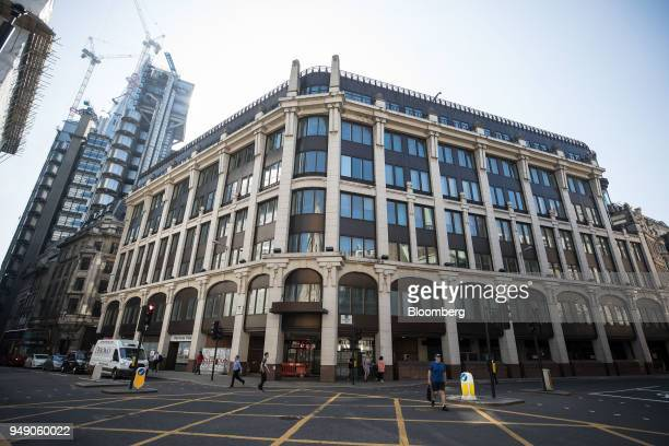 The One Leadenhall project plot stands in the City of London UK on Friday April 20 2018 Foreign investors are less worried about the impact of...