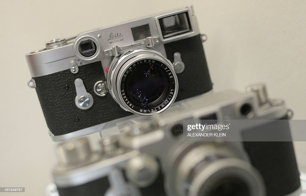 the one millionth leica camera a leica m3 dated from 1960 is