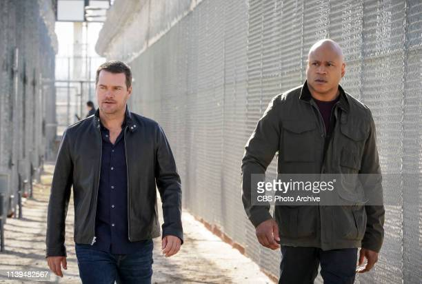 The One That Got Away Pictured Chris O'Donnell and LL COOL J After Anna Kolcheck escapes from prison with her cellmate Callen and the NCIS team...